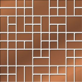25x25 Copper glass Mosaic